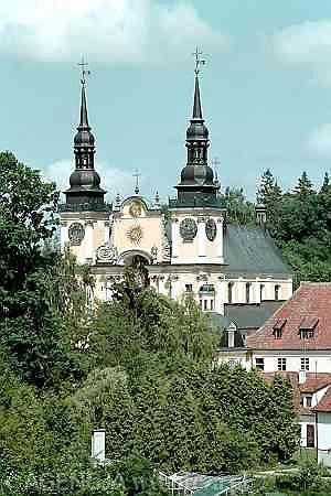 Barokowy kościół - zespół klasztorny