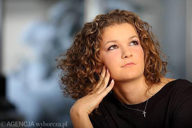 Agnieszka Radwańska podczas specjalnej sesji fotograficznej w Krakowie
