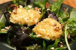 Salade de chevre - sałata z kozim serem
