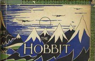 zdjęcie okładki pierwszej edycji 'Hobbita'
