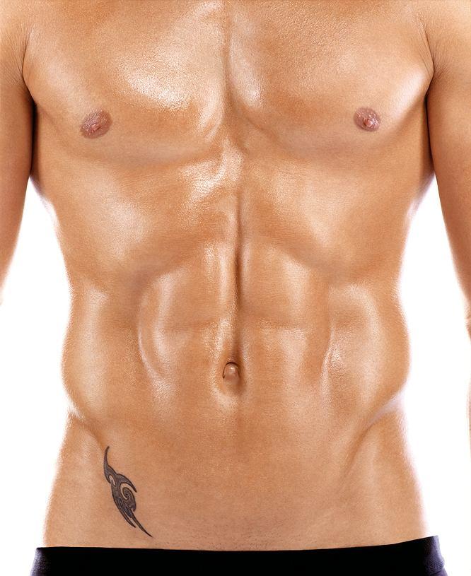 Brzuch idealny: płaski, mocny, ładnie wyrzeźbiony