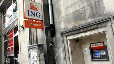 BANKOMAT ING BANK SLASKI