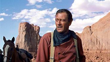 """John Wayne w westernie """"Poszukiwacze"""""""