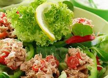 Sałatka z tuńczykiem i kapustą pekińską - ugotuj