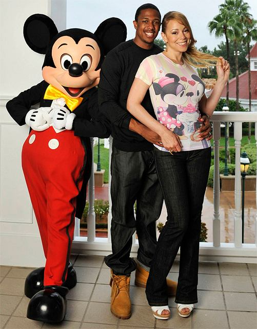 Mariah Carey, Nick Cannon  fot. AP Photo/Disney, Diana Zalucky/AG