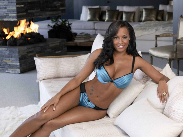 Melanie Brown, aka Spice Girl Mel B, modelling a boudoir teal creation from the latest collection of Ultimo's new Autumn/Winter 2008 campaign, shot in a mansion in the Hollywood Hills.  <P> Pictured: Mel B <P> <B>Ref: SPL54254 081008  </B><br> Picture by: Ultimo/ Splash News </P><P> <B>Splash News and Pictures</B><br> Los Angeles: 310-821-2666<br> New York: 212-619-2666<br> London: 870-934-2666<br> photodesk@splashnews.com<br> </P> <P><br> Splash News and Picture Agency does not claim any Copyright or License in the attached material. Any downloading fees charged by Splash are for Splash's services only, and do not, nor are they intended to, convey to the user any Copyright or License in the material. By publishing this material , the user expressly agrees to indemnify and to hold Splash harmless from any claims, demands, or causes of action arising out of or connected in any way with user's publication of the material. </P> *** Local Caption *** NO UNITED KINGDOM