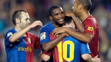 Samuel Eto'o wskazał następcę Messiego w Barcelonie.