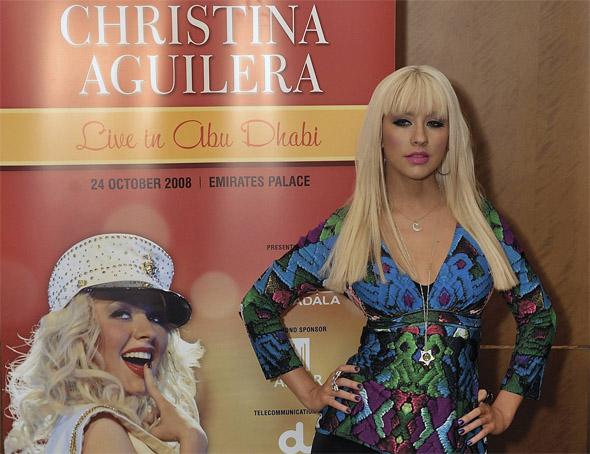 Christina Aguilera fot. AG
