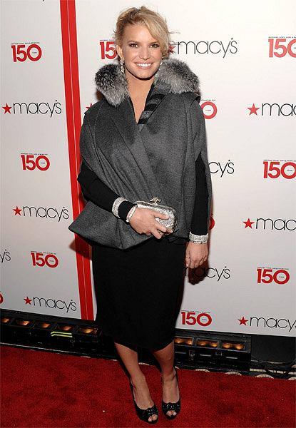 Jessica Simpson na urdzinach Macy's fot. AP Photo/Evan Agostini/AG
