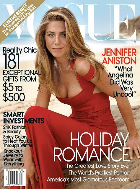 Jennifer Aniston fot. AP Photo/Vogue/AG