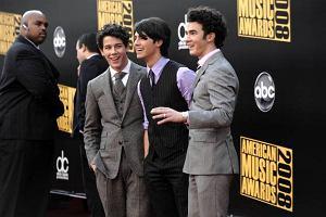 Jonas Brothers na American Music Awards w Los Angeles