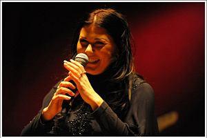 Iwona Węgrowska na koncercie w warszawskiej Sali Kongresowej promowała swój pierwszy solowy album.