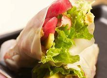Rożki z papieru ryżowego z tuńczykiem - ugotuj