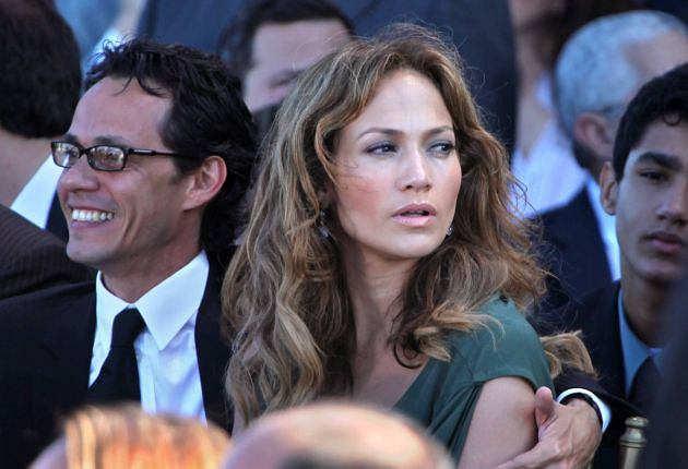 Jennifer Lopez, Marc Anthony.