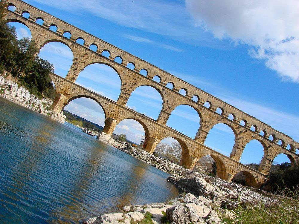 Pont du Gard, Prowansja, Francja