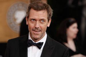 Elegancki Hugh Laurie został doceniony za tytułową rolę w ''Dr House'' - kiedy robiono to zdjęcie, jeszcze o tym nie wiedział.