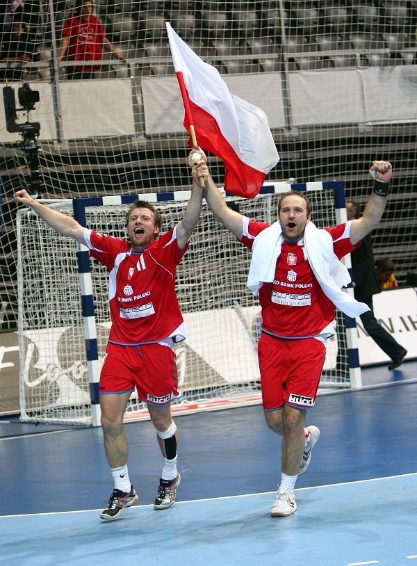 Damian Wleklak i Bartosz Jurecki
