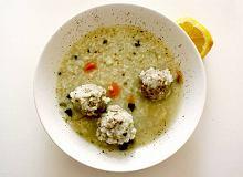 Zupa z awokado z klopsikami rybnymi - ugotuj