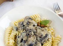 Pasta z grzybami - ugotuj