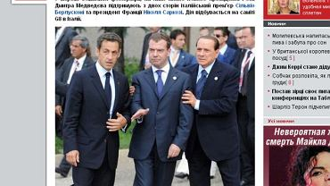 Prezydent pijany? fot. tabloid.pravda.com.ua