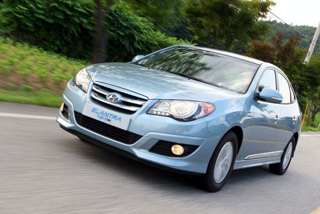 Hyundai Elantra LIP HEV