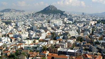 Ateny widziane z Akropolu