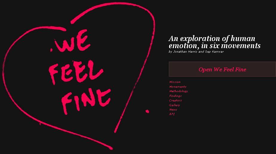 Naukowcy uruchomili stronę wefeelfine.org