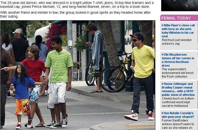 Synowie Michaela Jacksona