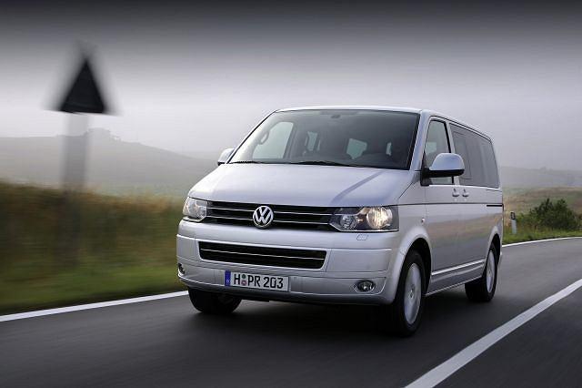 Volkswagen Transporter T5 po liftingu