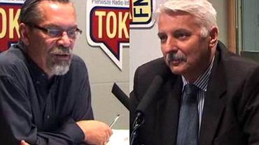 Witold Waszczykowski w rozmowie z Jackiem Żakowskim w studio TOK FM
