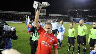 Henrik Larsson - to legenda Helsingborgs, wychowanej tego klubu, w którym kończył też karierę