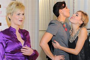 Beata Sadowska i Agnieszka Popielewicz chętnie pozowały razem do zdjęć na otwarciu butiku Portofino.