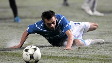Sławomir Peszko, jeszcze w barwach Lecha Poznań, z którego odszedł na początku 2011 r.