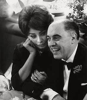 Sophia Loren i Carlo Ponti.