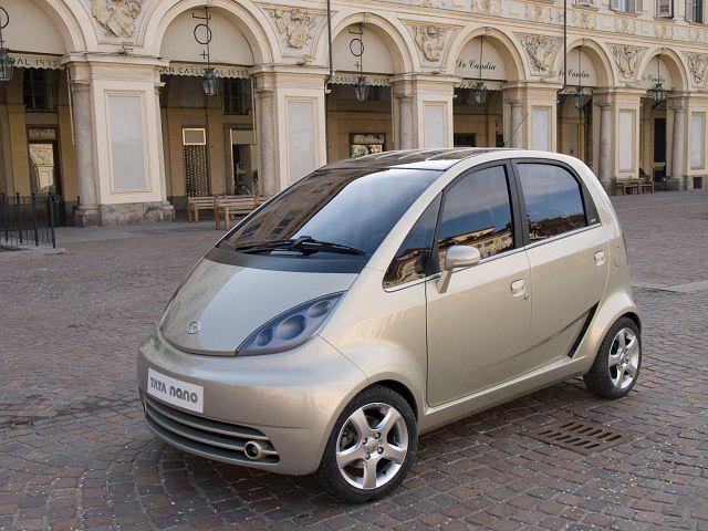 Tata Nano w wersji europejskiej