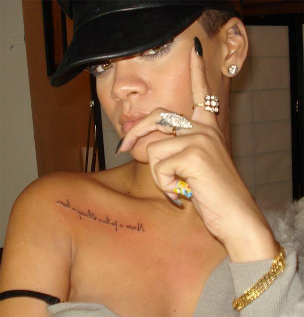 Rihanna Pokazała Nowy Tatuaż Hit Czy Kit