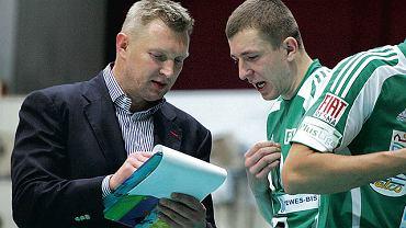 Trener Mariusz Sordyl informacje wynikające ze statystyk często przekazuje swoim siatkarzom