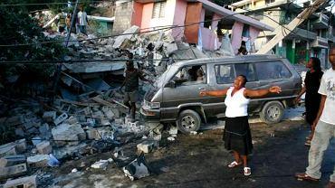 Zniszczenia na Haiti są przeogromne
