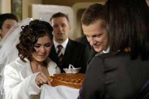 Podczas ceremonii towarzyszyła im cała rodzina... Mostowiaków.