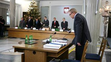 """Chlebowski tłumaczył, że dopiero w dniu publikacji w """"Rzeczpospolitej"""" dowiedział się o akcji CBA"""