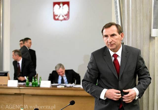 Ryszard Sobiesiak przed hazardową komisją śledczą