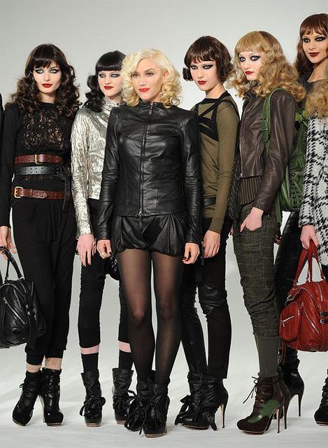Pokaz kolekcji L.A.M.B. Gwen Stefani podczas New York Fashion Week