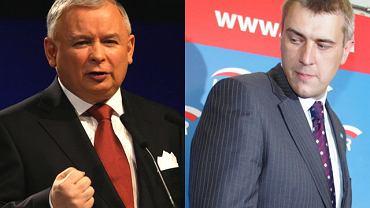 Jarosław Kaczyński i Roman Giertych