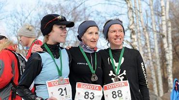 To był ich Biegowy Dzień Kobiet - Anna Pawłowska-Pojawa, Marzena Opowicz i Iwona Świercz. Toyota EkoMaraton, 07.03.2010