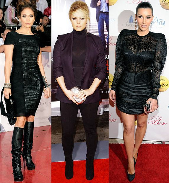 Jennifer Lopez/Jessica Simpson/Kim Kardashian