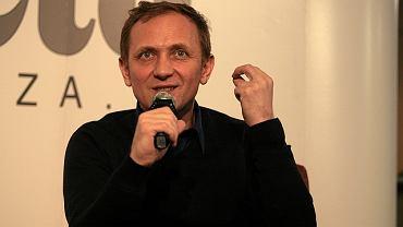 Andrzej Chyra podczas spotkania w Gazeta Cafe