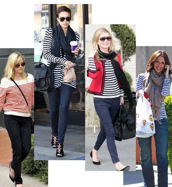 Reese Witherspoon, Jessica Alba, Kaste Moss,Jennifer Love Hewitt