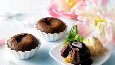 Deser czekoladowy z truflą