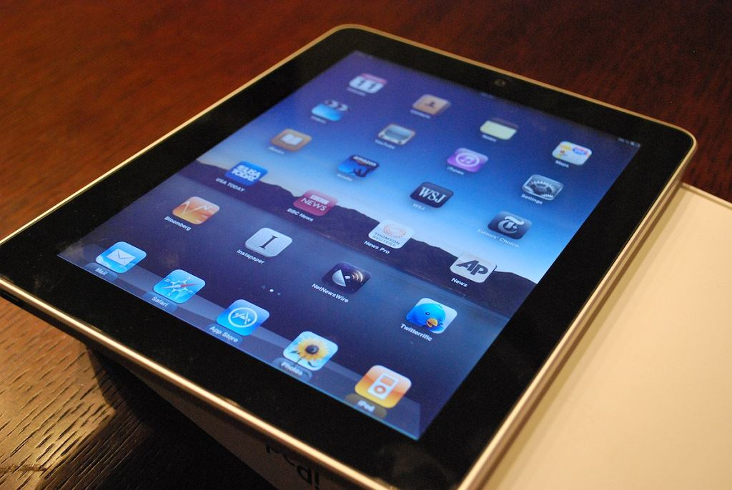 iPad, tablet Apple