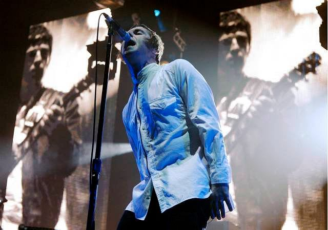 Liam Gallagher z Oasis